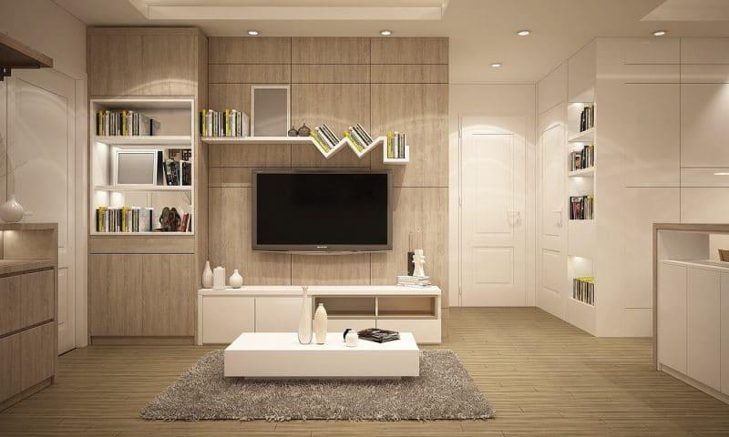 Choisissez un meuble TV assorti à votre buffet en bois